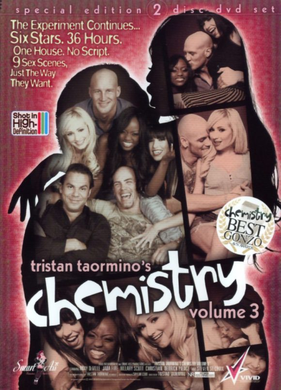 DVD cover of Chemistry Vol. 3, porn film directed by Tristan Taormino