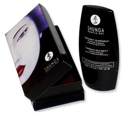 Shunga Secret Garden arousal gel / cream