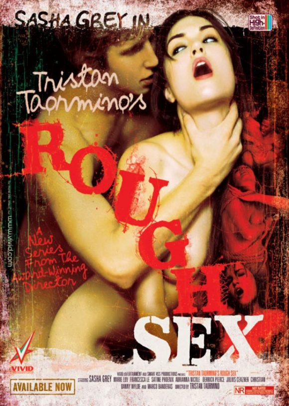 DVD cover of Rough Sex, porn film directed by Tristan Taormino