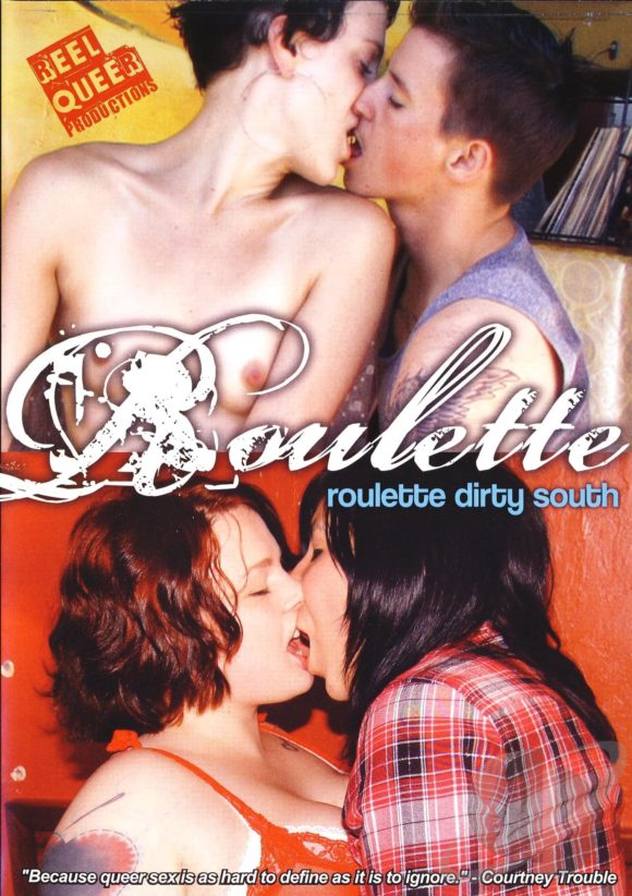 DVD cover of Roulette Dirty South, queer porn directed by Courtney Trouble