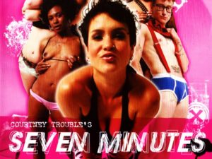 DVD cover of Seven Minutes in Heaven, queer porn directed by Courtney Trouble