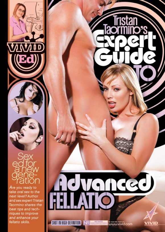 DVD cover of Tristan Taormino's Expert Guide to Advanced Fellatio, porn film directed by Tristan Taormino
