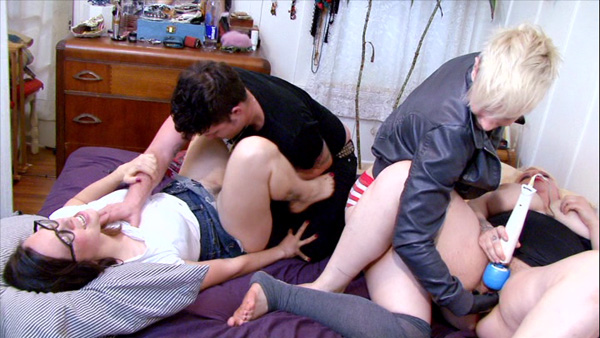Chastity Boner, Cyd Loverboy, Drew Deveaux, and Rusty Nails