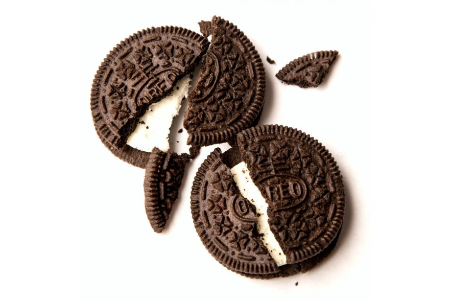 Broken Oreos. These are symbols of wild STD spread, don't you know?