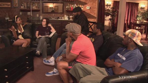Sinnamon Love, Orpheus Black, Richard Mann, and Shane Diesel