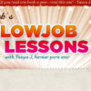 Banner for Jack's Blowjob Lessons site, featuring a cartoon dude with a mullet and shades.