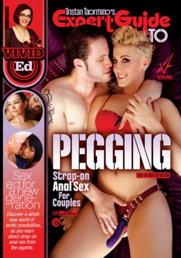 DVD cover of Tristan Taormino's Expert Guide to Pegging, porn film directed by Tristan Taormino