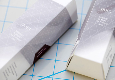 Crave Duet's packaging