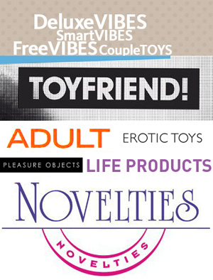 Just a few sex toy euphemisms I put together.