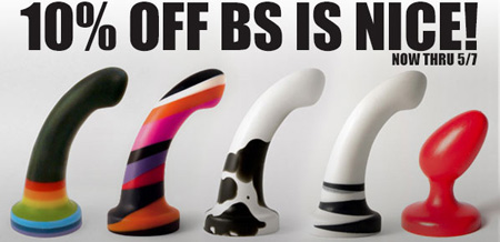 10% off BS is Nice at SheVibe!