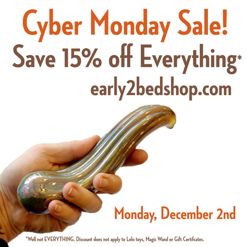 Early to Bed's Cyber Monday sale, 15% off everything