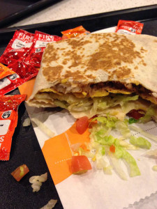 Crunchwrap Supreme — photo by Queeraschino Cherry
