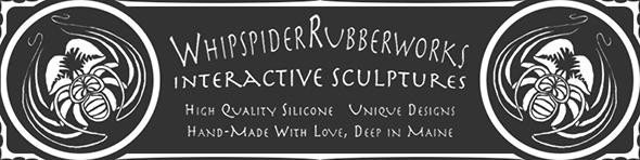 Whipspider Rubberworks logo