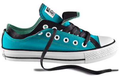 Turquoise Epiphora-themed Converse!