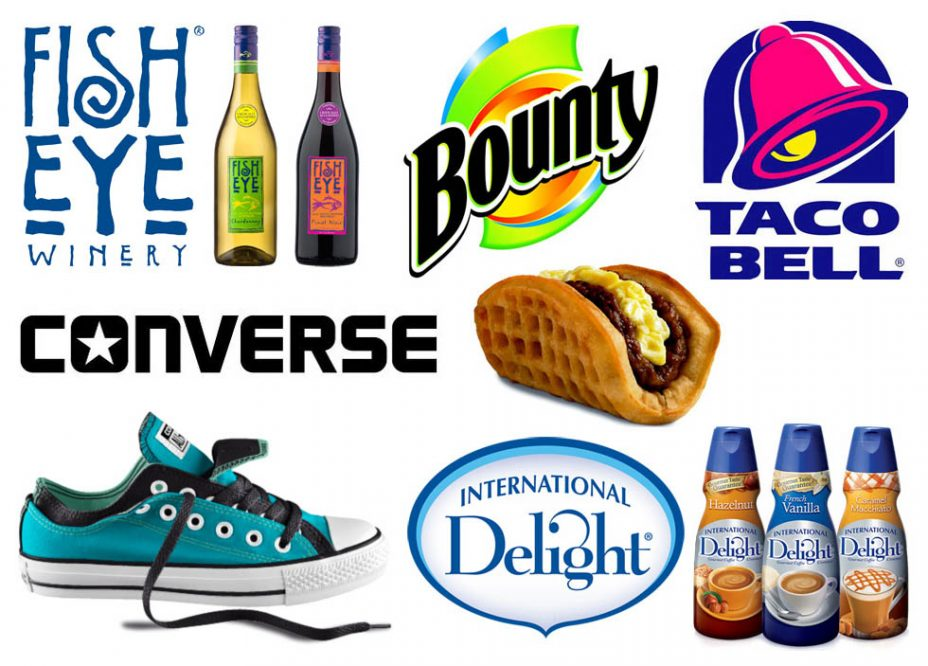 My new blog sponsors' logos