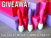 Giveaway: the great Mona summer party!