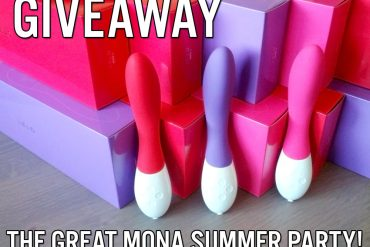 Giveaway: the great LELO Mona 2 vibrator summer party!