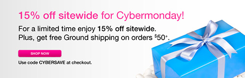 15% off at Babeland Cyber Monday!