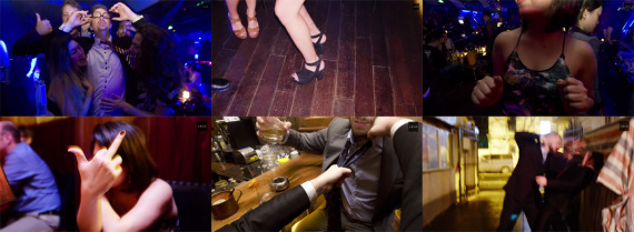 "Screenshots from LELO's promo video for Pino, the cock ring ""exclusively for bankers"""