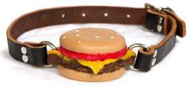 Gorge Ohwell Silencing Slider cheeseburger ball gag
