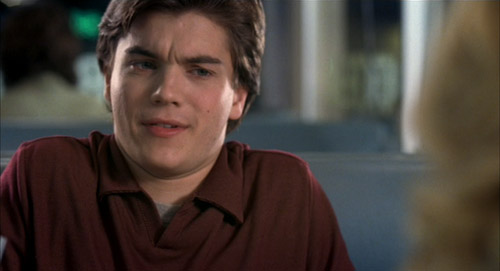 """Matthew (Emile Hirsch) in The Girl Next Door saying he's done """"so much nuts stuff, it's just off the hook, off the walls."""""""