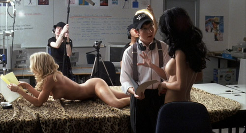 Eli (Chris Marquette) directing porn in The Girl Next Door