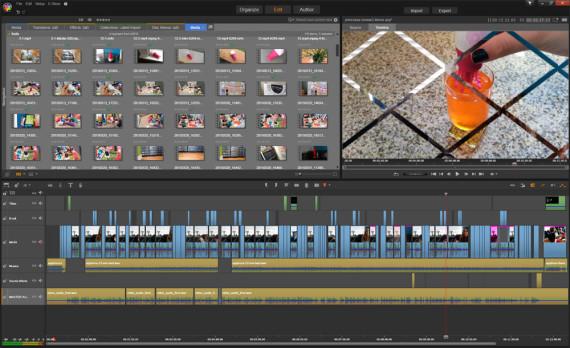 Video editing in Pinnacle. Oh my god.