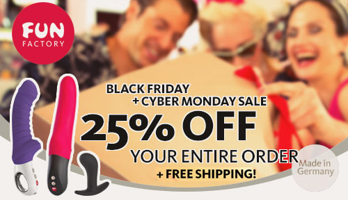 25% off everything at Fun Factory US!