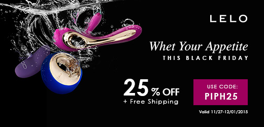 25% off and free shipping at LELO with code PIPH25!