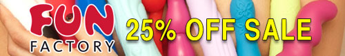 25% off select Fun Factory toys at Stockroom!