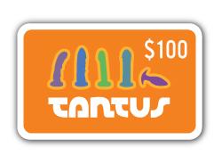 $100 gift card to Tantus