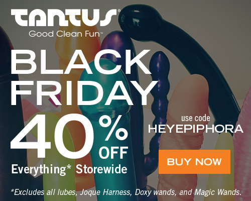 40% off EVERYTHING at Tantus!