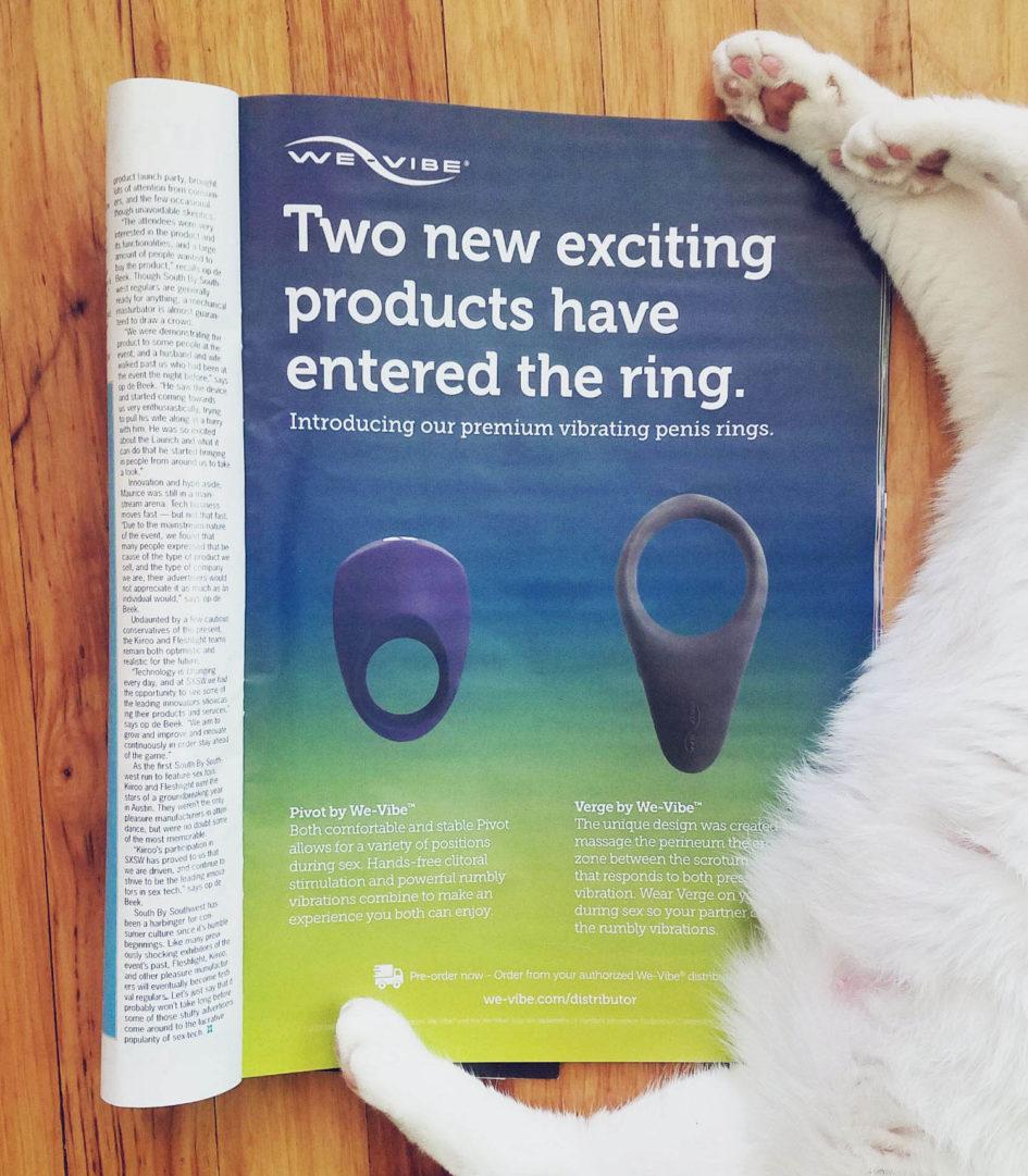 We-Vibe ad, free of gendered language.