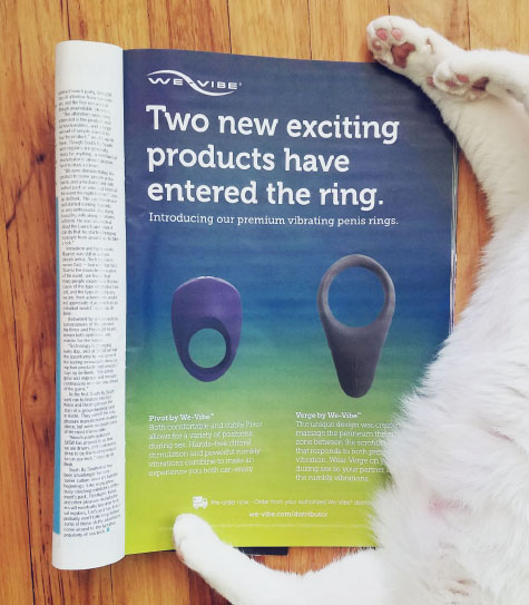 We-Vibe ad, free of gendered language