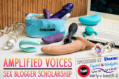 Announcing the Amplified Voices Sex Blogger Scholarship!