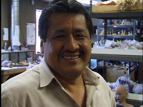 Dildo molding guy at Topco, smilin'.