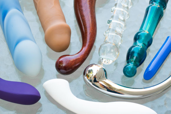 Body-safe sex toy materials: silicone, wood, glass, plastic, and stainless steel