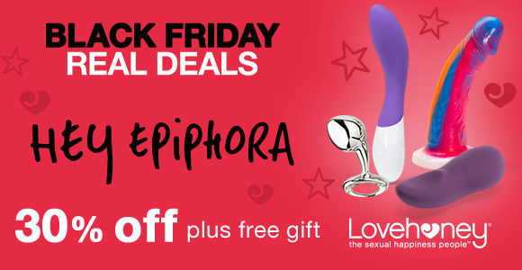 30% off Epiphora's Picks at Lovehoney, plus a free gift!