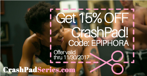 15% off any membership to Crash Pad Series with code EPIPHORA