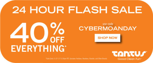 24-hour flash sale: 40% off everything at Tantus with code CYBERMOANDAY