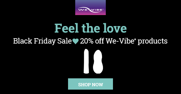 20% off at We-Vibe plus free shipping!