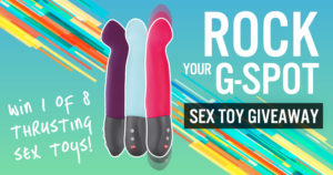 Giveaway: rock your G-spot!