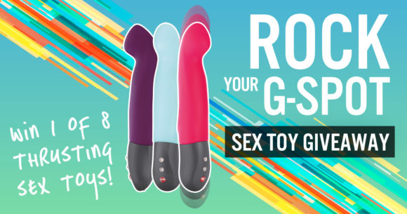 Giveaway: rock your G-spot with the Fun Factory Stronic G!