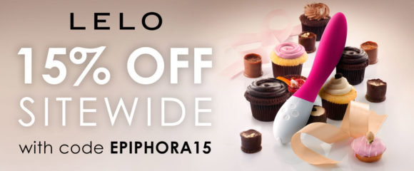 15% off at LELO with code EPIPHORA15