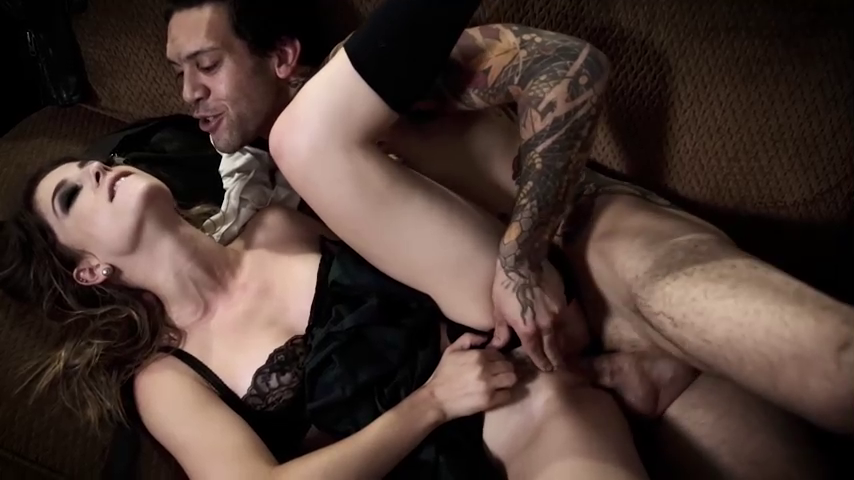 Small Hands fucking Kristen Scott while rubbing her clit, in Half His Age: A Teenage Tragedy.