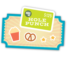 Concession Stand — win a Hole Punch Toys gift card!