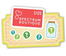 Guessing Game — win a Spectrum Boutique gift card!
