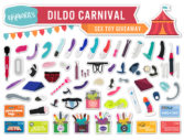Dildo carnival: a HUGE sex toy giveaway!