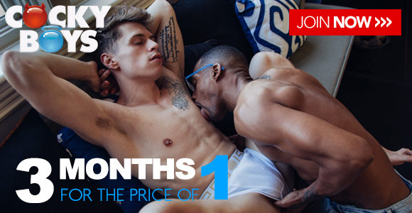 3 months for the price of 1 at CockyBoys!