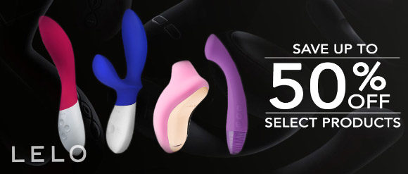 Up to 50% off select products at LELO.